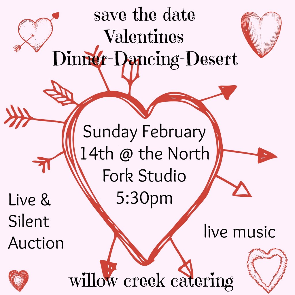 Studio valentine's dinner/dance - save the date