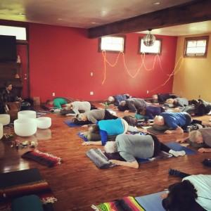 studio yoga fundraiser 1