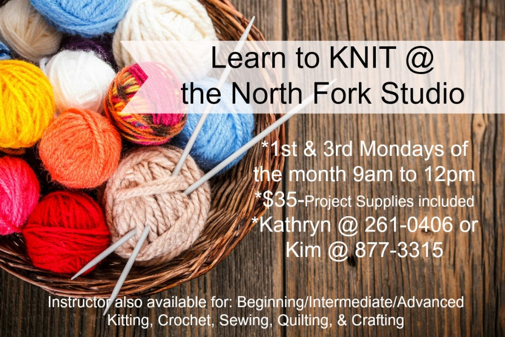biginning knitting classes